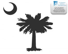 Palmetto Moon Photo Collage