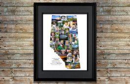 Alberta Province Collage