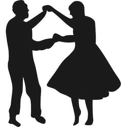 Dancing Couple Photo Collage