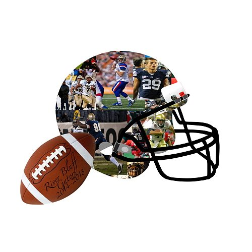 Football Photo Collage Premium Hand Crafted Collages