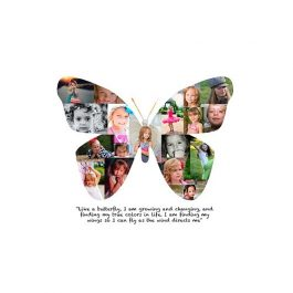 Butterfly Photo Collage #1