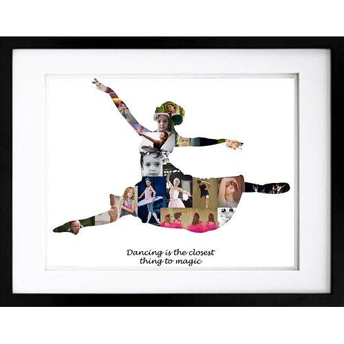 Ballerina Grand Jeté Photo Collage - #2