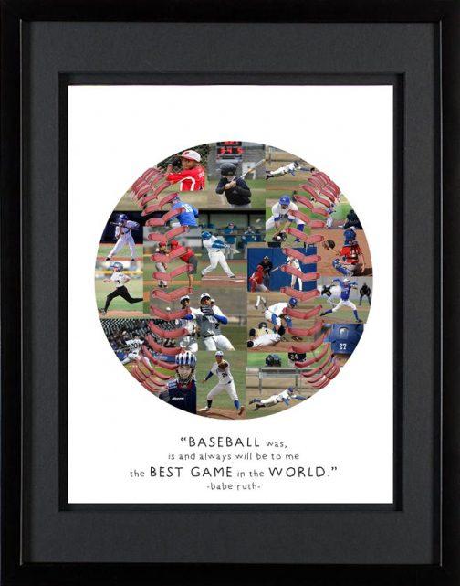 Baseball Photo Collage