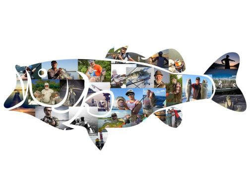 Bass Fishing Photo Collage