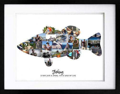 Bass Fishing Photo Collage - #2