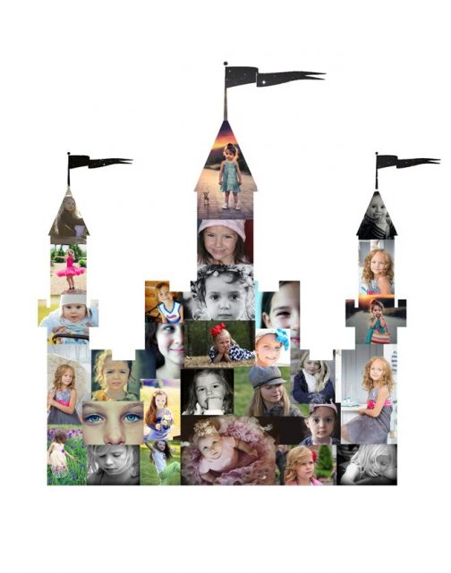 Castle Photo Collage