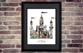 Princess Castle Photo Collage – Design #1