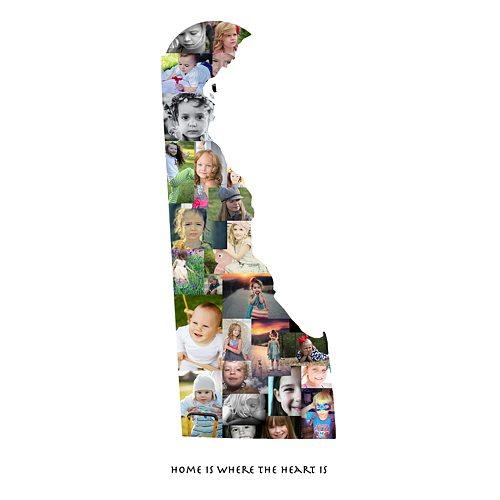 Delaware Photo Collage