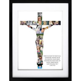 Crucifix Photo Collage – Disciples Amongst Us