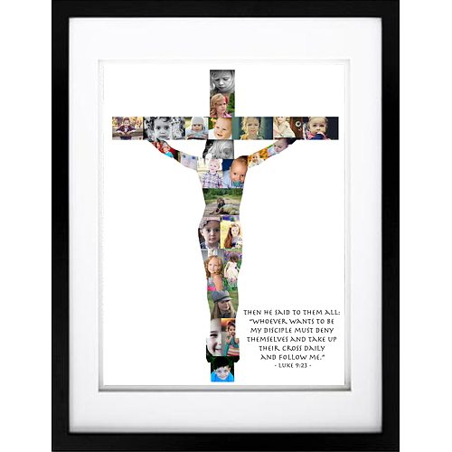 Crucifix Photo Collage - Disciples Amongst Us