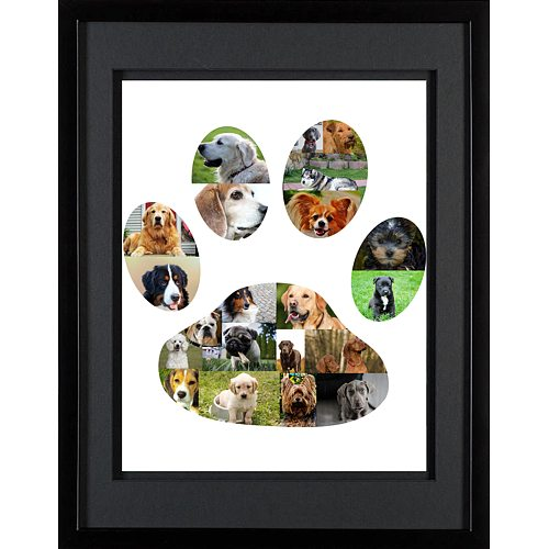 Dog Paw Photo Collage