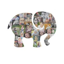 Elephant Photo Collage