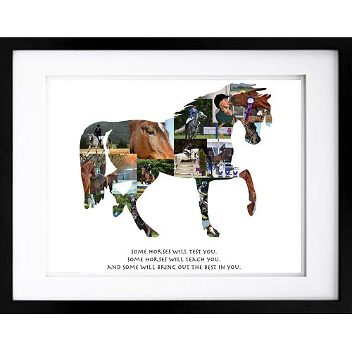 Horse Photo Collage