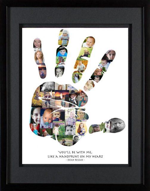 Handprint Photo Collage