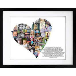 Heart Photo Collage – Artsy Form
