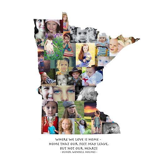 Minnesota Photo Collage