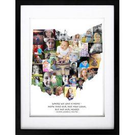 Ohio Photo Collage