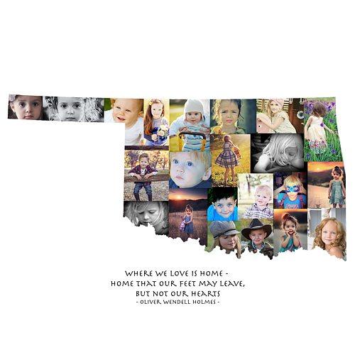 Oklahoma Photo Collage
