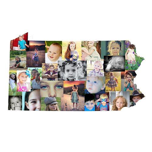 Pennsylvania Photo Collage