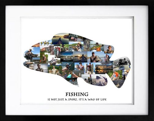 Pike Fishing Photo Collage
