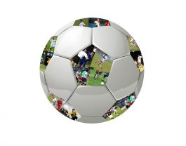 Soccer Ball #1 – Black Embedded