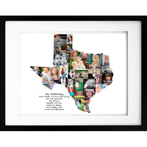 Texas Photo Collage Premium Hand Crafted Collages Artsy Einstein