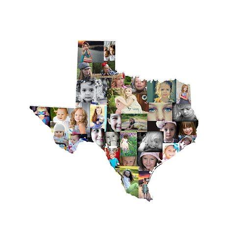 Texas Photo Collage