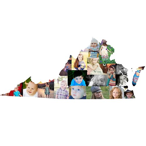 Virginia Photo Collage