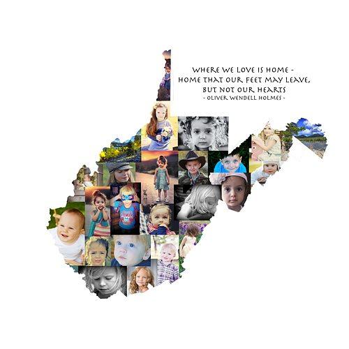 West Virginia Photo Collage