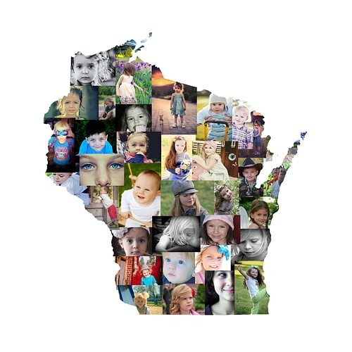 Wisconsin Photo Collage