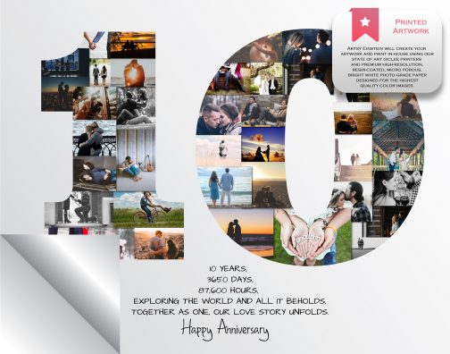 10th Anniversary Collage Printed Version