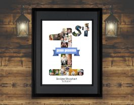 1st Birthday Photo Collage – 1st Birthday Gift – Milestone Birthday Collage
