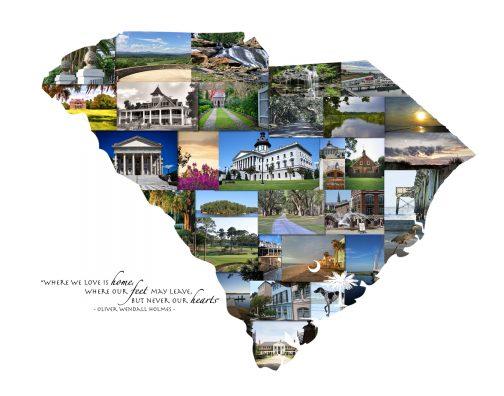Charleston SC Photo Collage