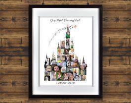 Cinderella Castle Photo Collage