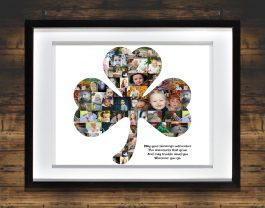 Shamrock Photo Collage