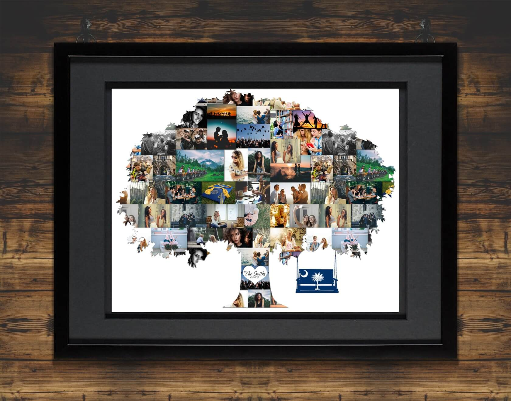New Family Tree Photo Collage